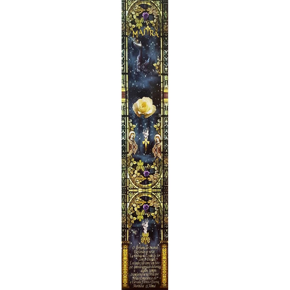 Incenso Maitra - ALMÍSCAR - Vareta 10 Unidades