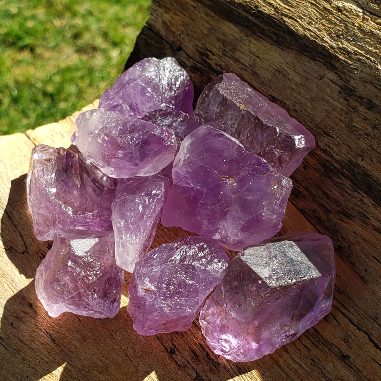 Ametista kit Pedras Brutas Poderosas e Protetoras