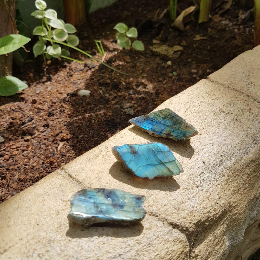 Kit de Labradorita Pedra Mística e Protetora