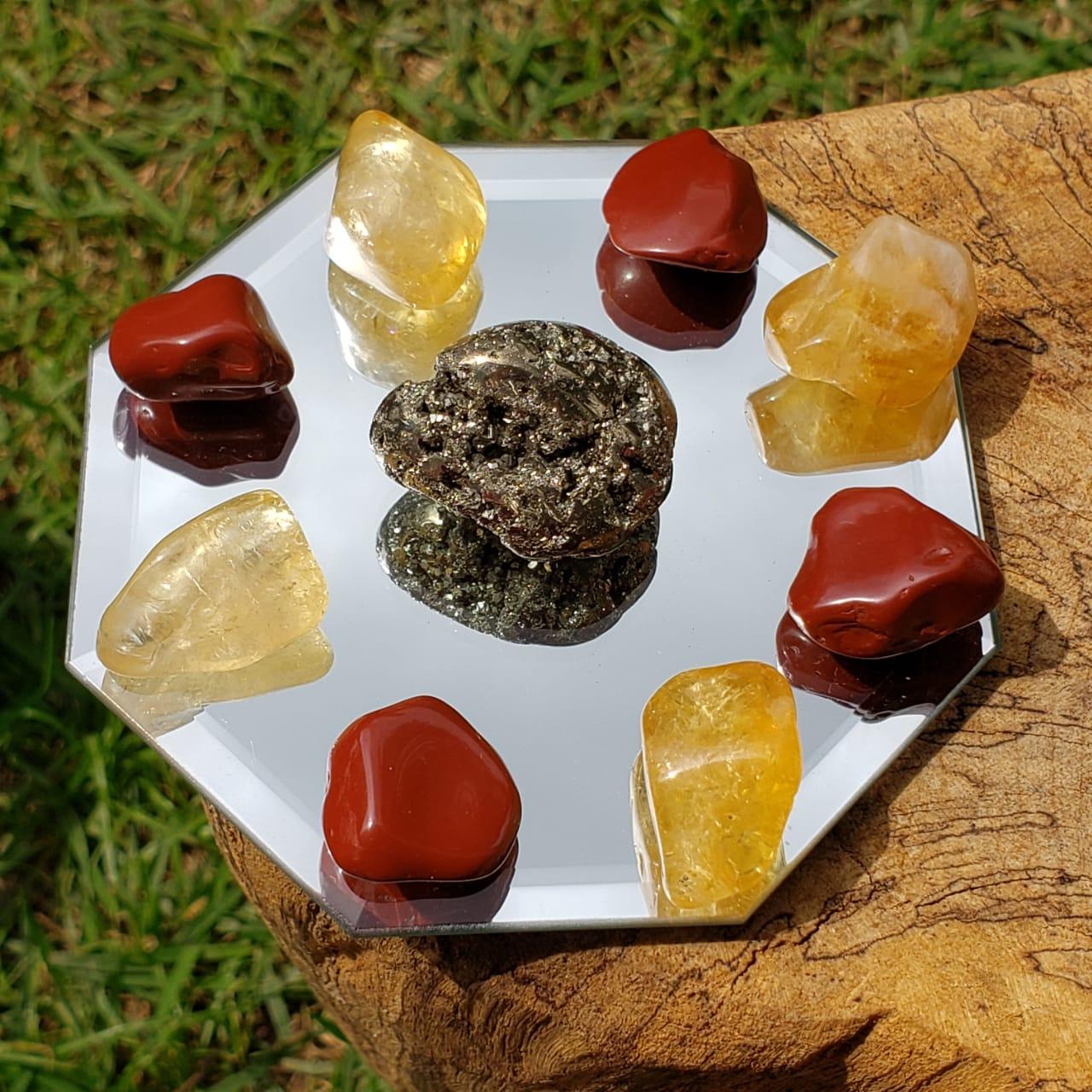 Kit Pedras do Dinheiro, Sucesso e Prosperidade