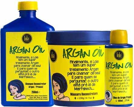 Lola Cosmetics - Argan Oil e Pracaxi - Kit Tratamento Completo