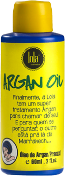 Lola Cosmetics - Argan Oil e Pracaxi - Óleo de Argan - 60ml