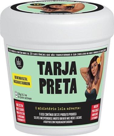 Lola Cosmetics - Tarja Preta - Máscara Restauradora - 230g