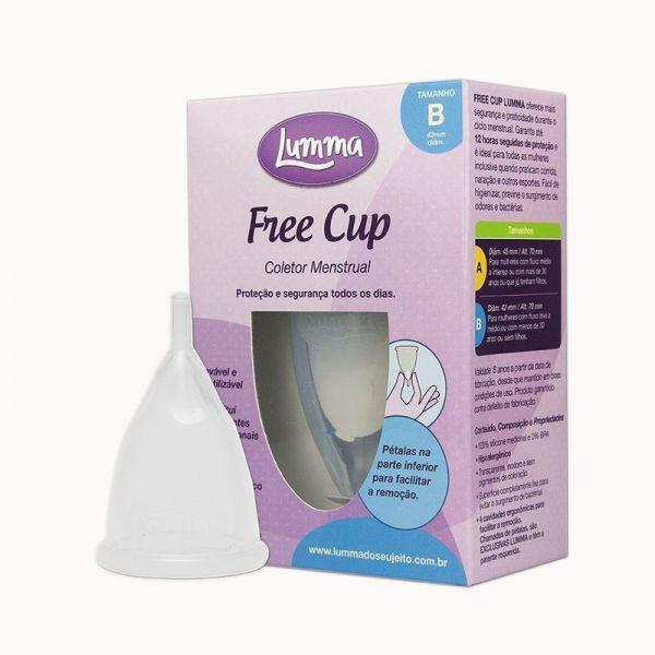 Lumma - Coletor Menstrual - Free Cup - Tamanho B
