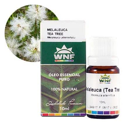 Óleo Essencial Melaleuca (Tea Tree) WNF - 10ml