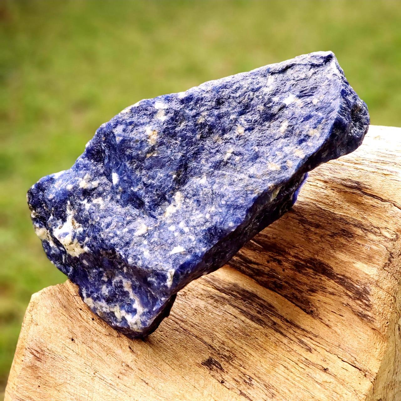 Pedra de Sodalita Cristal para Intuição