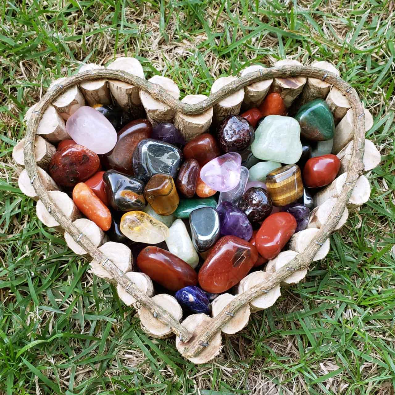 Pedras Roladas Sortidas 1 kg