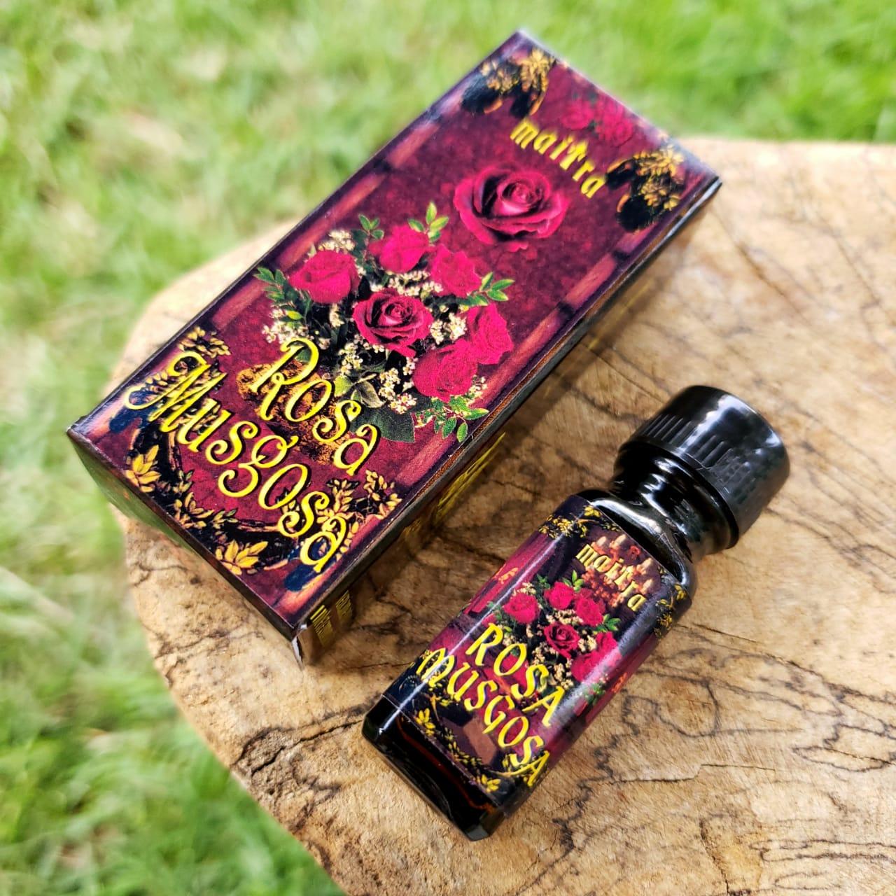 Rosa Musgosa Óleo Aromático 5 ml - Maitra