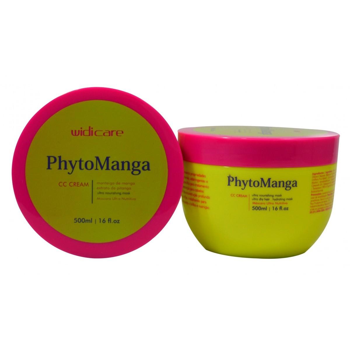 Widi Care - CC CREAM - PhytoManga - Máscara de Tratamento
