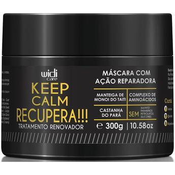 Widi Care - Keep Calm Recupera - Máscara com Ação Reparadora - 300g