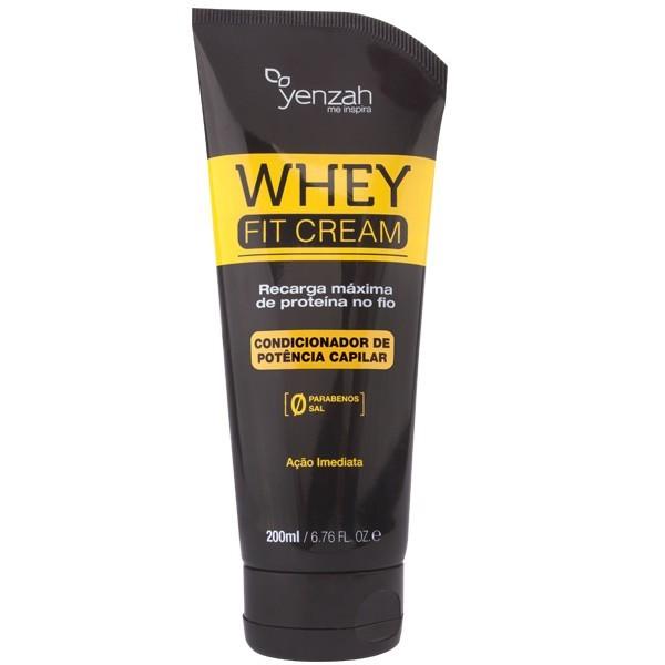 Yenzah - Condicionador Whey Fit Cream Power - Recarga de Proteína - 200ml