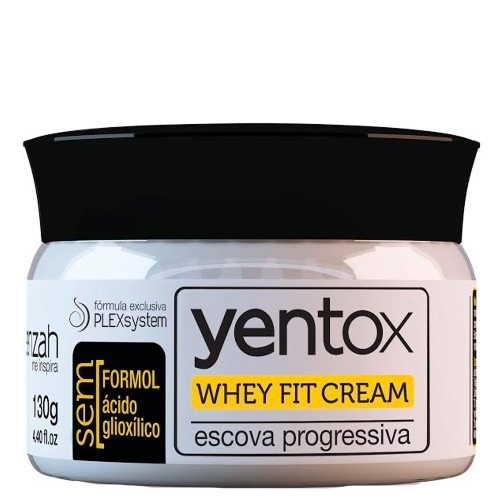 Yenzah - Whey Fit Cream - Yentox - Escova Progressiva - 130g
