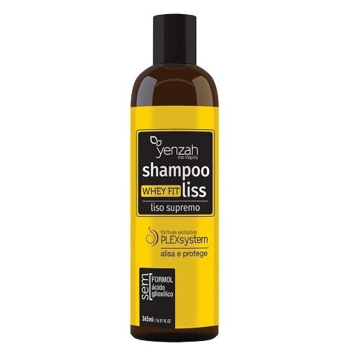 Yenzah - Shampoo Whey Fit Liss - Liso Supremo - Alisa e Protege - 365ml