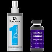 BBX CREAM 10 BENEFICIOS BENOUVER PROFISSIONAL 115ML + Ampola Blond Magic Benouver Profissional 15ml