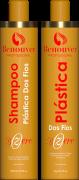 Escova Progressiva Botox Bzero Escova Progressiva 2X1000ml