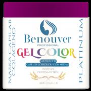 Gel Color - Matizador Revitalizador de Loiros - Benouver Profissional - 500G