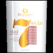 Máscara 7 vidas Benouver Profissional 1kg