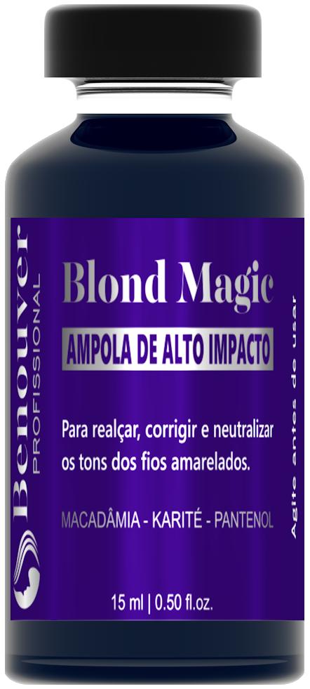Ampola Blond Magic Benouver Profissional 15ml