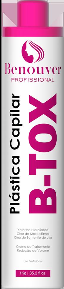 Plástica Capilar B-TOX Benouver Profissional 1KG