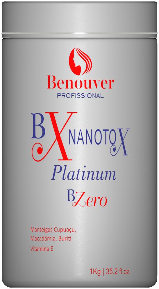 Bx Nanotox Selagem Bzero Platinum Benouver Profissional 1kg