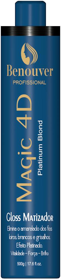 Magic 4d Gloss Matizador - 500g - Benouver Profissional