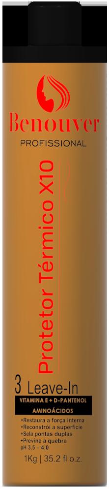 Leave-In Reconstrução X10 (Cauterização) - 1kg - Benouver Profissional