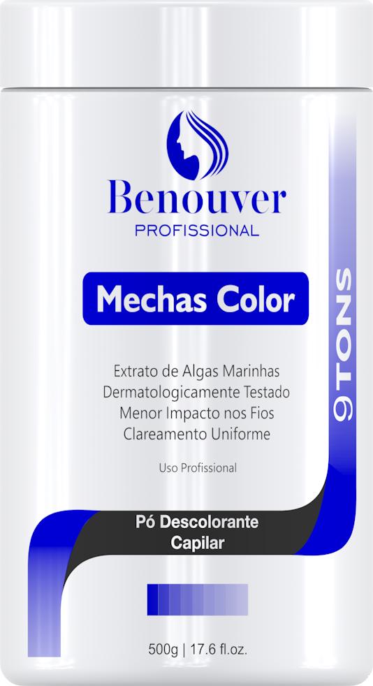 Pó Descolorante Bmechas Benouver Professional 500g  - Benouver Profissional