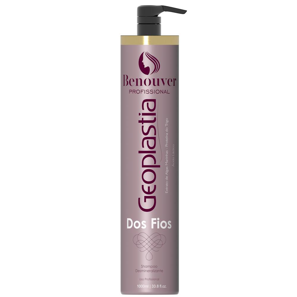 Shampoo Anti-estático Geoplastia 1000 ml Benouver Profissional  - Benouver Profissional