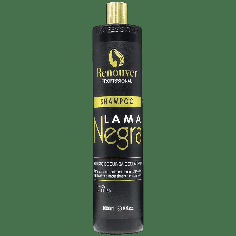 Shampoo Lama Negra Benouver Profissional 1000ml  - Benouver Profissional