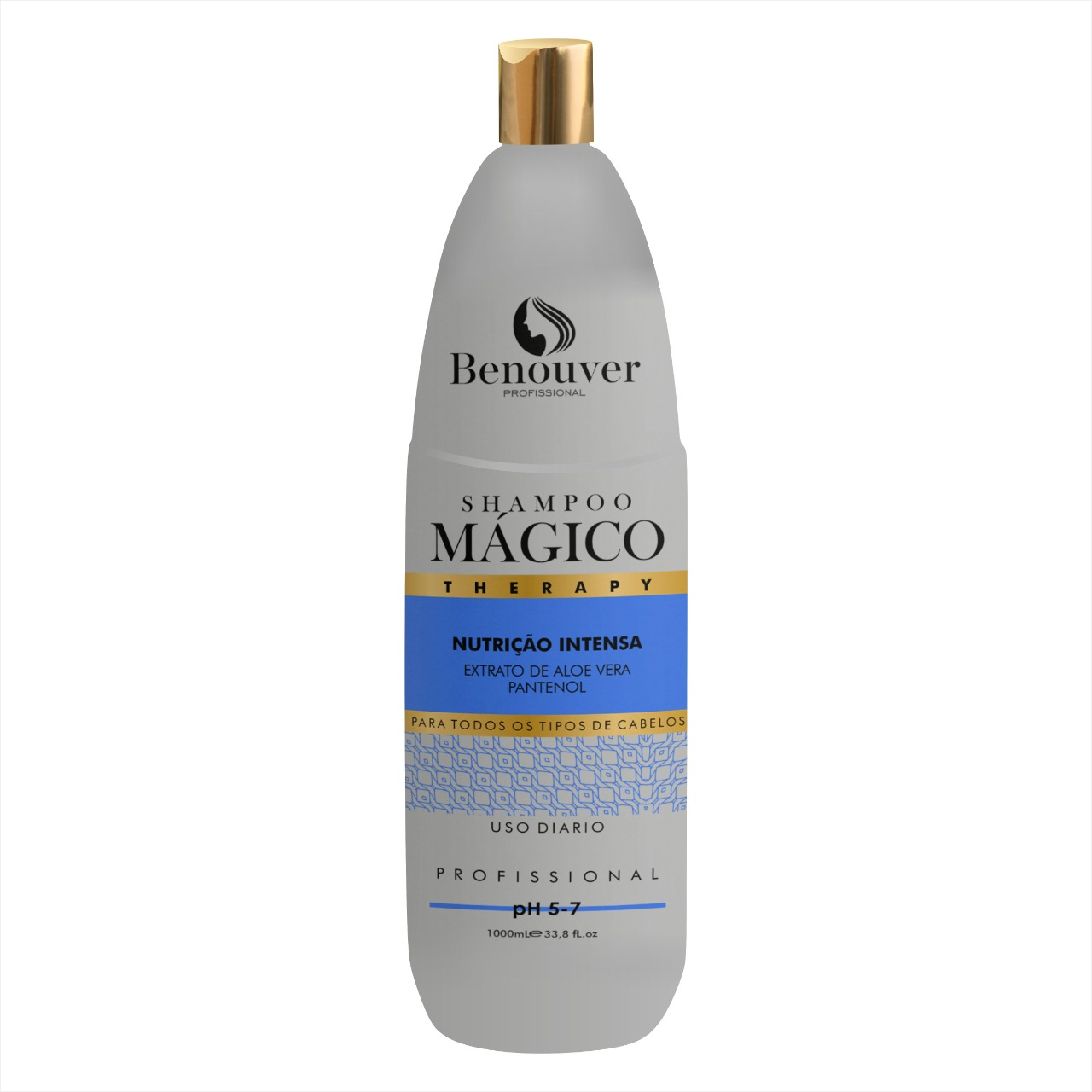 Shampoo Mágico Therapy Benouver Profissional - 1000ml  - Benouver Profissional