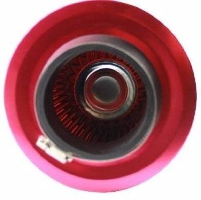 Filtro De Ar Duplo Fluxo Esportivo Twistter Monster Vermelho