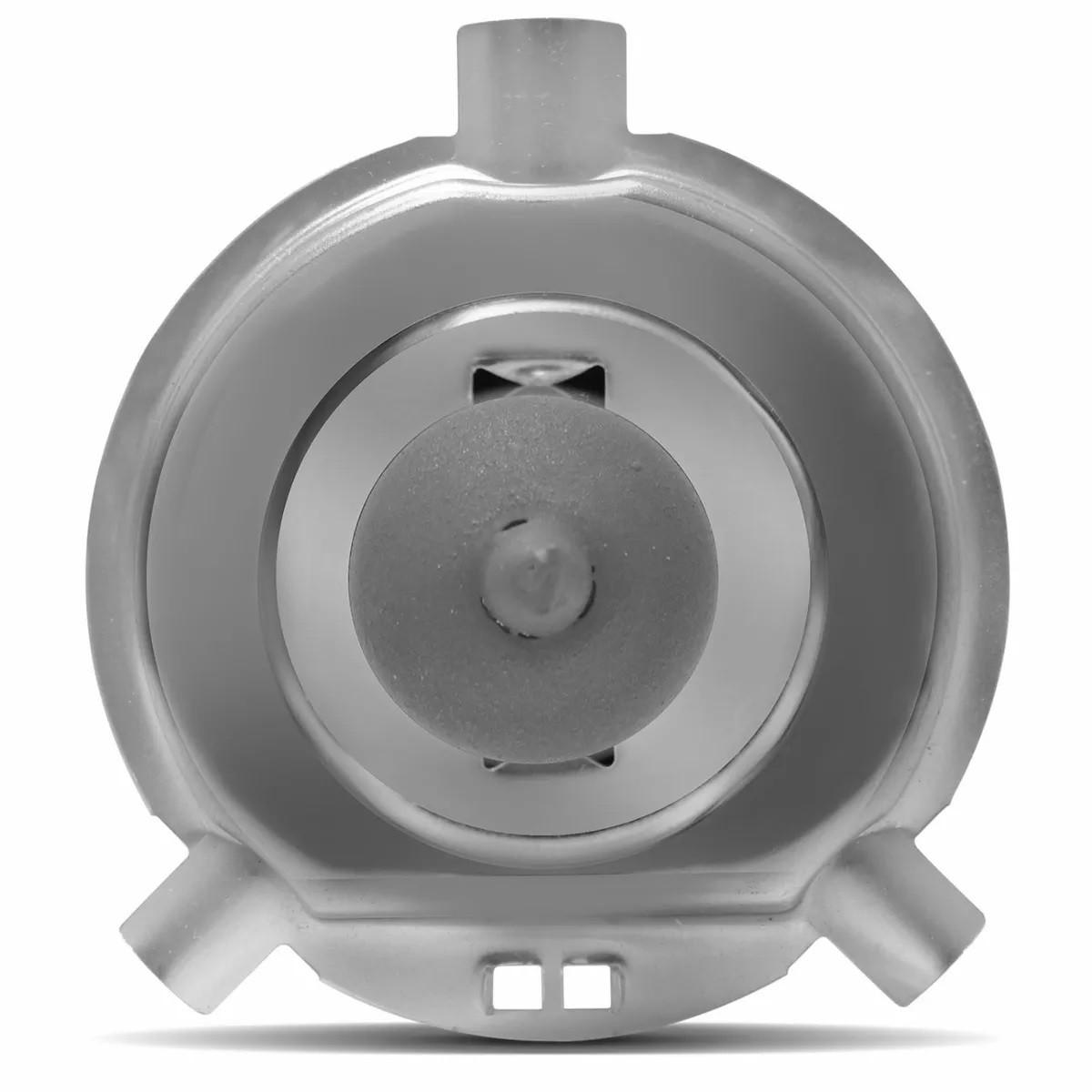 Kit Lampada H4 100w 12v Comum + Soquete Porcelana Resitente