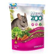 Alimento Super Premium Completo para Chinchila - Mega Zoo (500g)