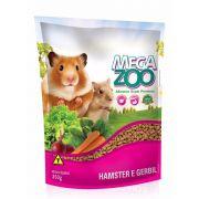 Alimento Super Premium Completo para Hamster, Gerbils e outros roedores com tendências granívoras - MegaZoo (350g)