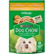 Alimento úmido Dog Chow Sachê Sabor Frango Raças Pequenas para Cães Adultos extra life - Nestlé Purina (100g)