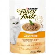 Alimento úmido Fancy Feast Casserole com Frango e Peru - Nestlé Purina (85g) quantidade:1