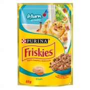 Alimento úmido Friskies Sachê Atum ao Molho para Gatos Adultos - Nestlé Purina (85g)