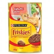 Alimento úmido Friskies Sachê Carne ao Molho para Gatos Filhotes - Nestlé Purina (85g)