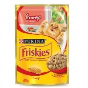Alimento úmido Friskies Sachê Frango ao Molho para Gatos Adultos - Nestlé Purina (85g)