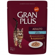 Alimento úmido Gran Plus Sachê Adulto Atum para Gatos - Affinity Guabi (85g)