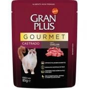 Alimento úmido Gran Plus Sachê Gourmet Ovelha para Gatos Castrados - Affinity Guabi (85g)