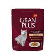 Alimento úmido Gran Plus Sachê Trato Urinário Frango para Gatos Adultos - Affinity Guabi (85g)