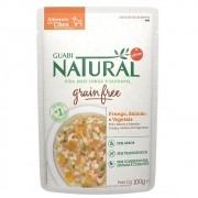 Alimento úmido Guabi Natural Grain Free Sachê Cães Frango, Salmão e Vegetais - Affinity Guabi (100g)