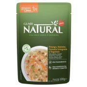 Alimento úmido Guabi Natural Sachê Cães Frango, Salmão, Cereais integrais e Vegetais - Affinity Guabi (100g)