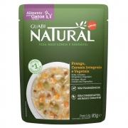 Alimento úmido Guabi Natural Sachê Gatos Frango, Cereais integrais e Vegetais - Affinity Guabi (85g)