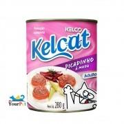 Alimento úmido Kelcat Lata Picadinho à moda para Gatos Adultos (280g)