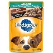 Alimento úmido Pedigree Raças Pequenas Sachê Sabor Cordeiro ao Molho para Cães Adultos - Mars (100g)