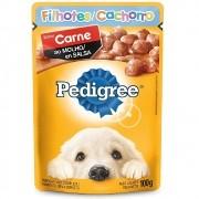 Alimento úmido Pedigree Sabor Carne ao Molho para Cães Filhotes - Mars (100g)