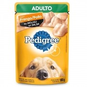 Alimento úmido Pedigree Sabor Frango ao Molho para Cães Adultos - Mars (100g)