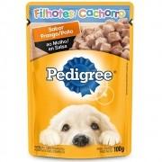 Alimento úmido Pedigree Sabor Frango ao Molho para Cães Filhotes - Mars (100g)